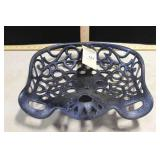 BLUE IMPLEMENT SEAT (GOOD), 15""