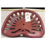 MC CORMICK IMPLEMENT SEAT, 17 1/2""
