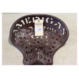"AMERICAN HARROW CAST SEAT, 15 1/2"" (DETROIT)"