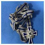 GERMAN NAZI BLUE ENAMEL MOTHER