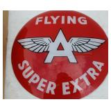 """NOS GLASS FLYING """"A"""" SUPER EXTRA GLOBE GLASS"""
