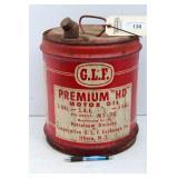 "GLF 5 GAL OIL CAN - PREMIUM ""HD"""