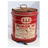 """G.L.F. PREMIUM""""HD"""" TRACTOR OIL 5 GALLON CAN"""