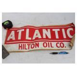 5 ATLANTIC - HILTON OIL CO. DECALS  -STICKERS