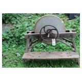 """22 1/2"""" GRINDING WHEEL ON STAND"""