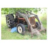 OLIVER 550 TRACTOR - GAS MOTOR - AS IS