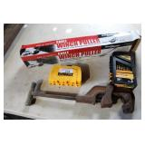DRILL BITS, NEW WINCH PULLER, PIPE CUTTER,