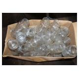 2 BOXES OF CLEAR CANNING JARS - NEW& OLD