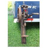 CHAMPION BLOWER & FORGE WALL MOUNTED DRILL PRESS