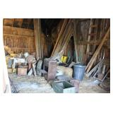 CONTENTS OF THE UPSTAIRS OF BARN - LUMBER