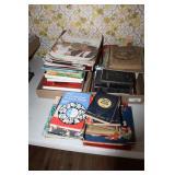 LARGE LOT OF BOOKS, BIBLES, LIFE MAGAZINES