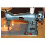 BELVEDERE ADLER SEWING MACHINE & SEWING ITEMS