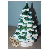 GREEN CERAMIC CHRISTMAS TREE