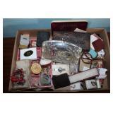 COSTUME  JEWELRY - ONE BOX