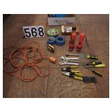 Box of hand tools