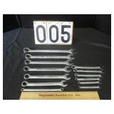 Group of Craftsman wrenches
