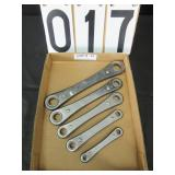 KMC ratcheting metric wrenches