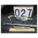 Various torque wrenches