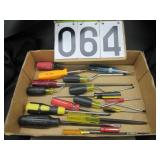 Group of screw drivers