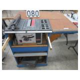 """Shop Craft 10"""" table saw with router"""
