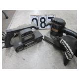 2 Craftsman power belt sanders
