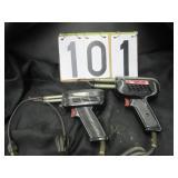 2 Weller soldering guns