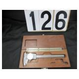 Brown & Sharpe dial calipers
