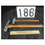 2 Craftsman hammers