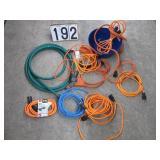 Extension cords & garden hose