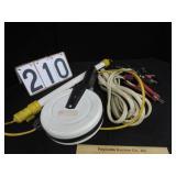 Retractable light & jumper cables