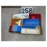 Large quantity plastic hardware / tool bins