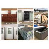 Live Building Material Auction