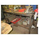 Super Heavy Duty Steel Work Bench