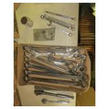 Assorted Wrenches and Sockets