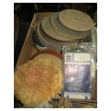Assorted Grinding and Buffing Pads and Discs