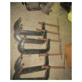 "8"" Hargrave C-Clamps"