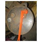 "Ridgid 24"" Pipe Wrench"