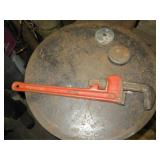 "Snap-On 18"" Pipe Wrench"