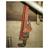 "Ridgid 10"" & 14"" Pipe Wrenches"