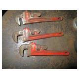 "Ridgid 8"" Pipe Wrenches"