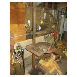 Steel Swivel Top Work Table