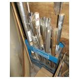 Storage Rack With assorted Brazing rods