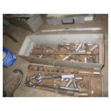 Metal Tool Box w/Sockets