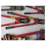 "HK Porter 24"" bolt cutters"