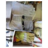 Assorted Welding & Other Gloves
