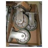 """Set of (4) 5"""" Wheel Castors"""