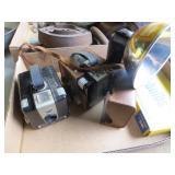 2 Old Kodak Brownie Hawkeye Cameras