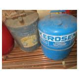 Kerosene & Galvanized Gas Cans