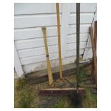 Broom, Bat & Chimney Brush