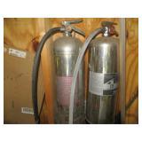 (2) Soda Fire Extinguishers